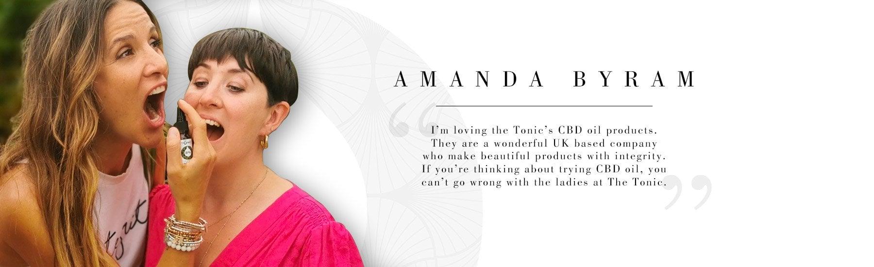 The Tonic Tribe - Amanda Byram